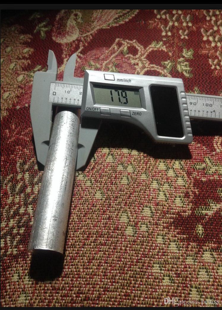 Al por mayor-W110Free envío 1PC de alta pureza 99.99% Magnesio Metal Rod Mg 18 mm x 100 mm