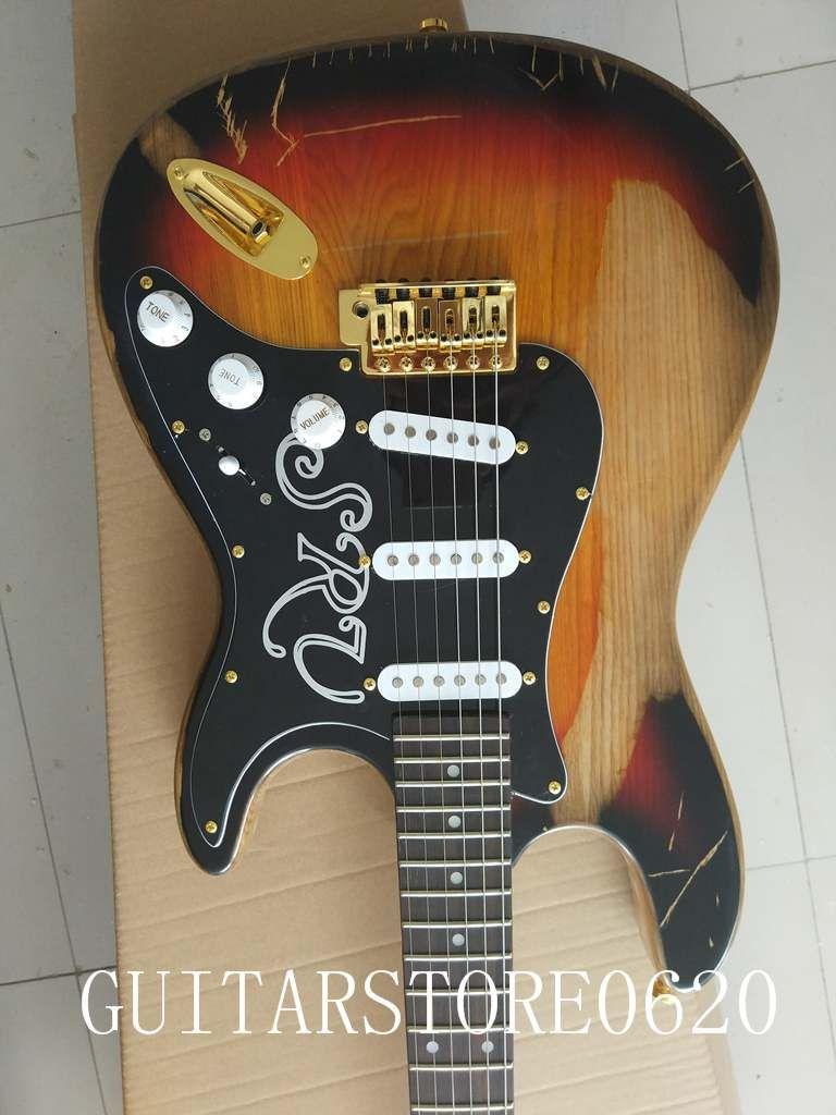 10 S пользовательские гитара золотые аксессуары имитировали старые гитары бесплатная доставка