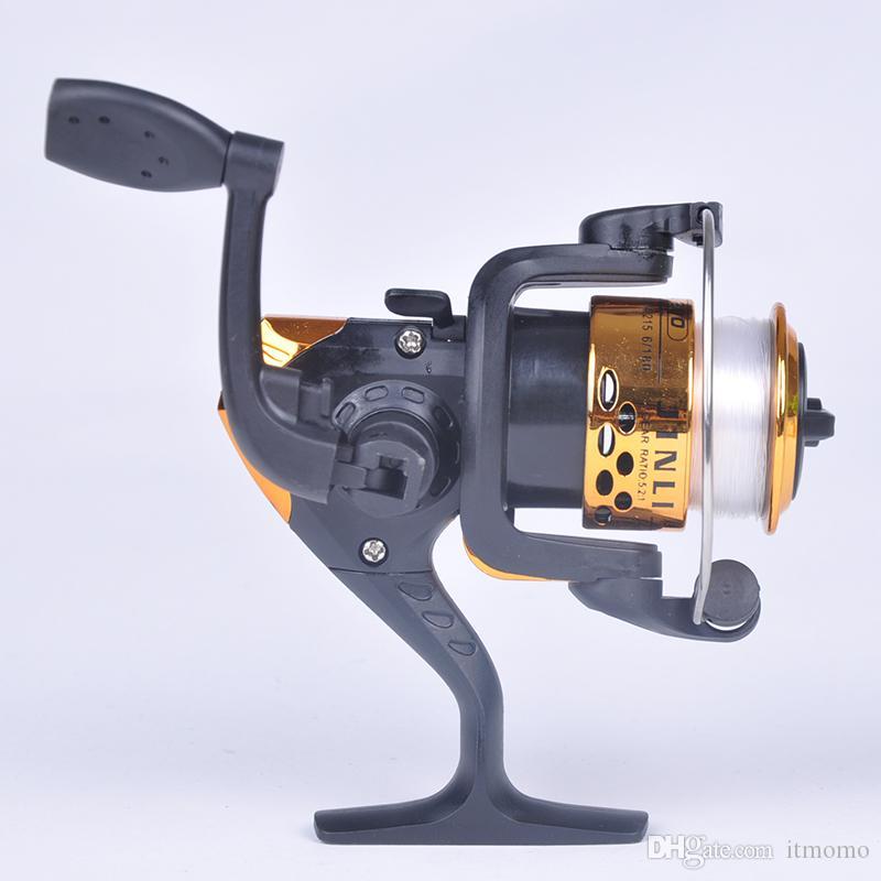 المياه المالحة مقاتلة غزل الصيد بكرة 3 واضعا الكرة 2 أنظمة التحكم اليمين اليد اليسرى الصيد بكرات لفائف عجلة