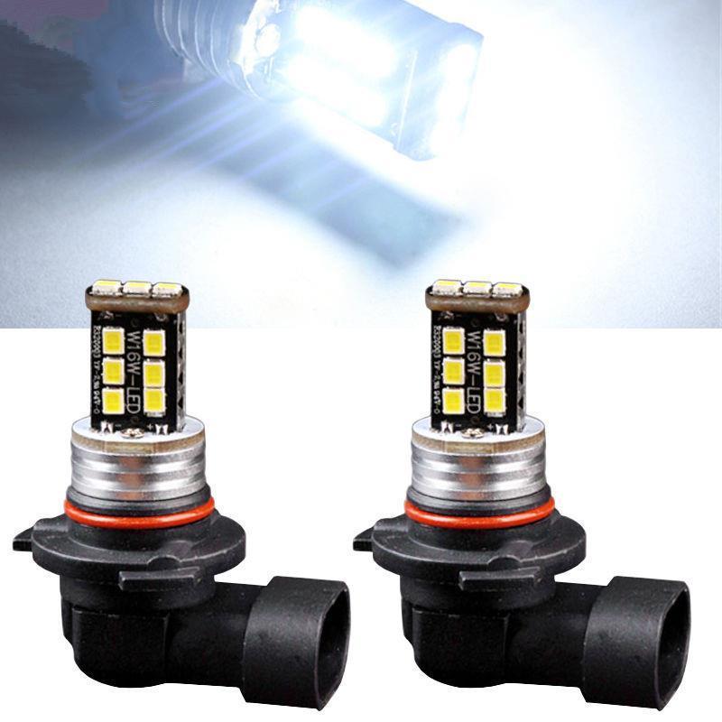 2pcs Bianco 9006 HB4 9012 LED Auto Nebbia / Guida DRL Faro Anabbagliante / Anabbagliante 7W
