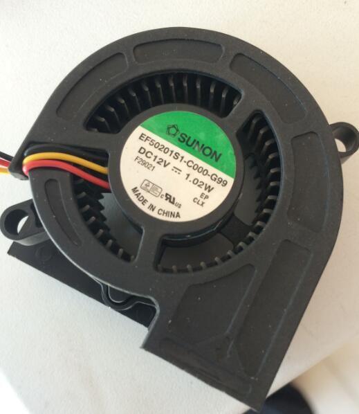 EF50201S1-C000-G99 SUNON 5020 12v 1.02W 5cm 프로젝터 팬