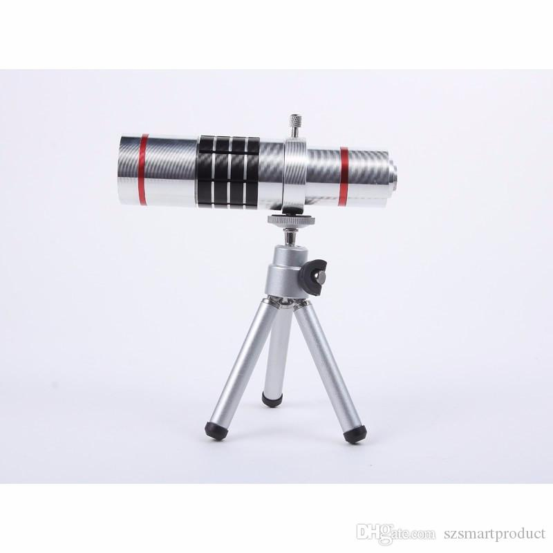 Universal Clip 18x Zoom Telephoto Lens With Tripod Telescope For Mobile Phone Lens Camera For iPhone 6s 7 Smartphone Lenses