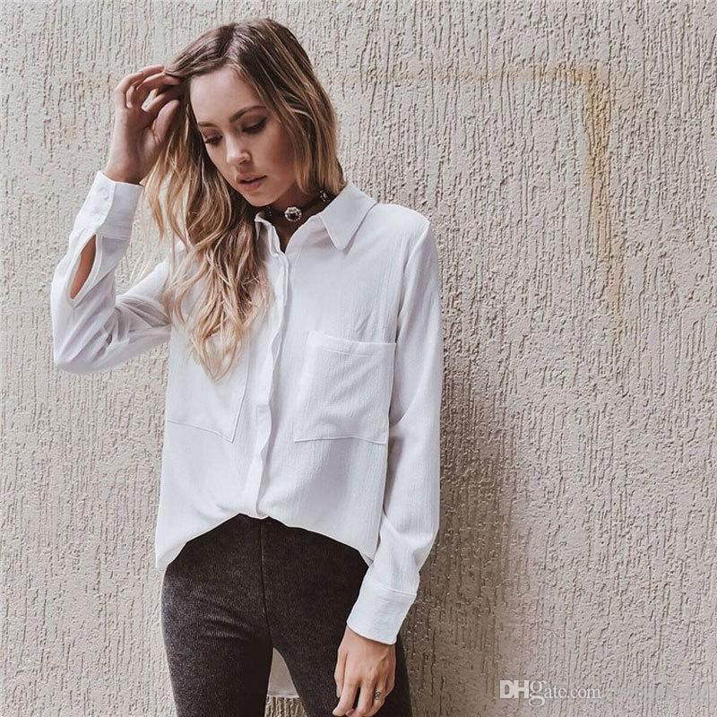 Сексуальные белые блузки