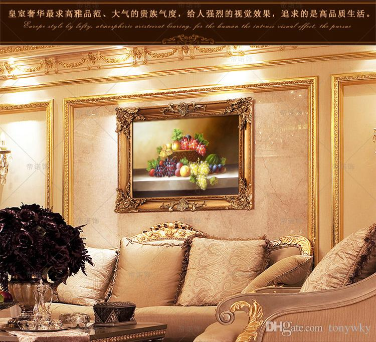 Modern Abstract Flower Decorative Painting on canvas and Thick ...
