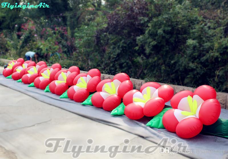 9m Cadena de flor de la cadena Encanto flor inflable para la etapa / Calle / Evento