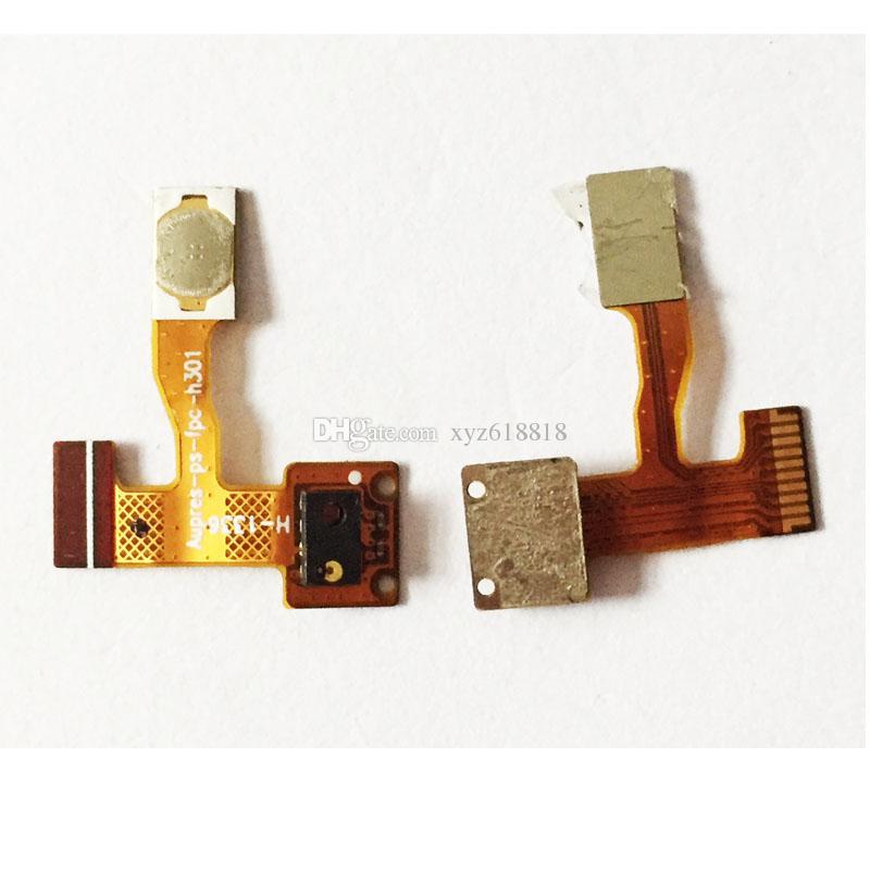Nouvelles pièces de rechange d'origine pour Lenovo A850 ON / Off Bouton d'alimentation Flex Cable Ribbon Livraison Gratuite Power Key Button Flex Câble FPC + Capteur