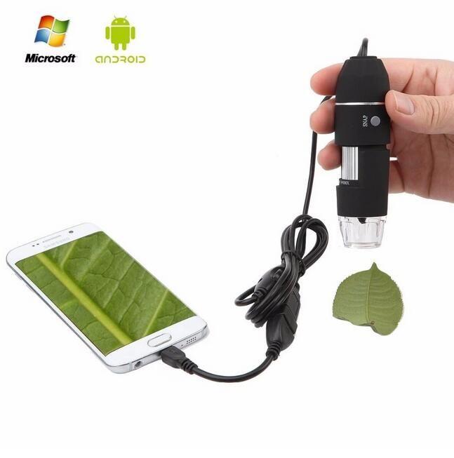 삼성 안드로이드 모바일 윈도우를위한 휴대용 1000x USB 디지털 현미경 카메라 배율 내시경 OTG