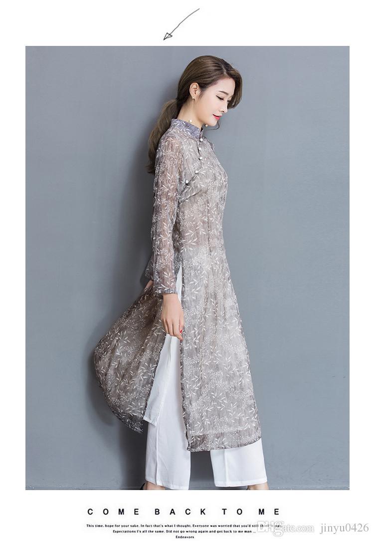 Real Style Retro Style Aristocratic Spring Fashion Chiffon Dress ...