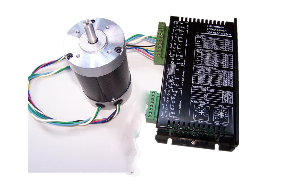 2-Quadrant BLDC motor speed driver, 36V,48V, Power from 90W to 720W, PI close-loop control, parameters can setting for different halls motor