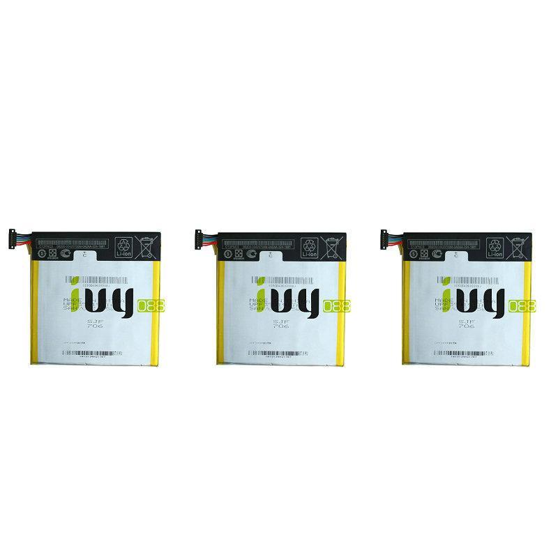 3pcs / lot 3950mAh C11P1303 batterie pour ASUS Google Nexus 7 II 2 2e ME571 ME571K ME571KL K008 K009 Batteries