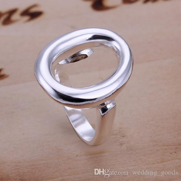 hot sale Opening O sterling silver jewelry ring for women WR008,fashion 925 silver Band Rings