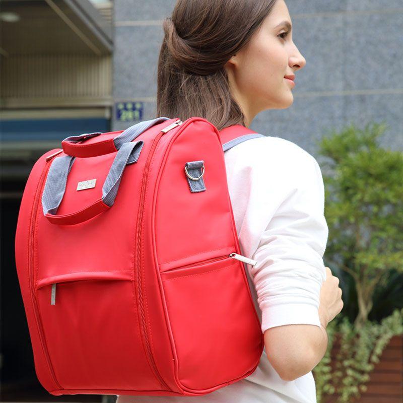 Bolso multifuncional del panal del bolso de la mamá de la mochila 210D del bebé del pañal del bebé de la moda al por mayor