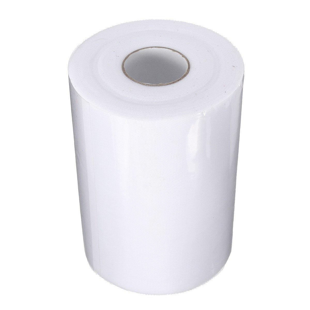 """UESH! لينة 6 """"x100yd تول رول بكرة الزفاف الحرفية الزفاف ديكور حزب 6"""" X300 """"الحليب الأبيض الجديد"""