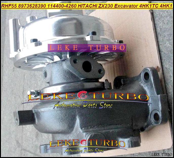 RHF55 ZX230 Excavator 4HK1 4HK1TC 4HK1-T 8973628390 114400-4260 Turbo turbocharger (3)