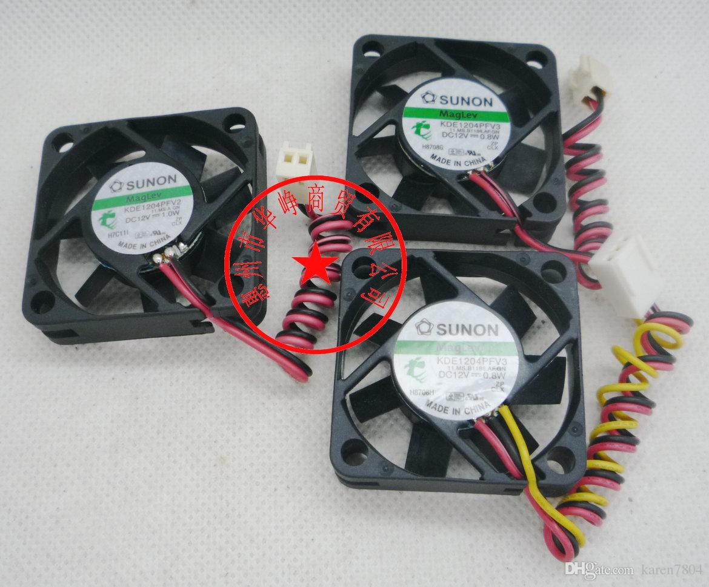 Ny original Sunon Cooling Fan 4cm 4010 12V 1.8W KDE1204PFVX 4010 KDE1204PFV2 3WIRE 12V 1.0W COOLER FAN, KDE1204PFV3 0.8W