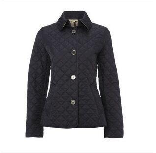 Оптовая продажа-новые горячие женщины тонкий Осень Зима куртка с длинным рукавом однобортный ватные стеганые парки хлопок пальто куртка 169