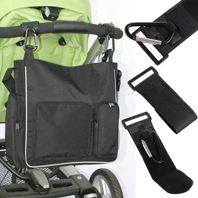 Wholesale- Trendy Baby Pushchair Stroller Clip Hook Buggy Pram Carabiner Diaper Bag Hanger