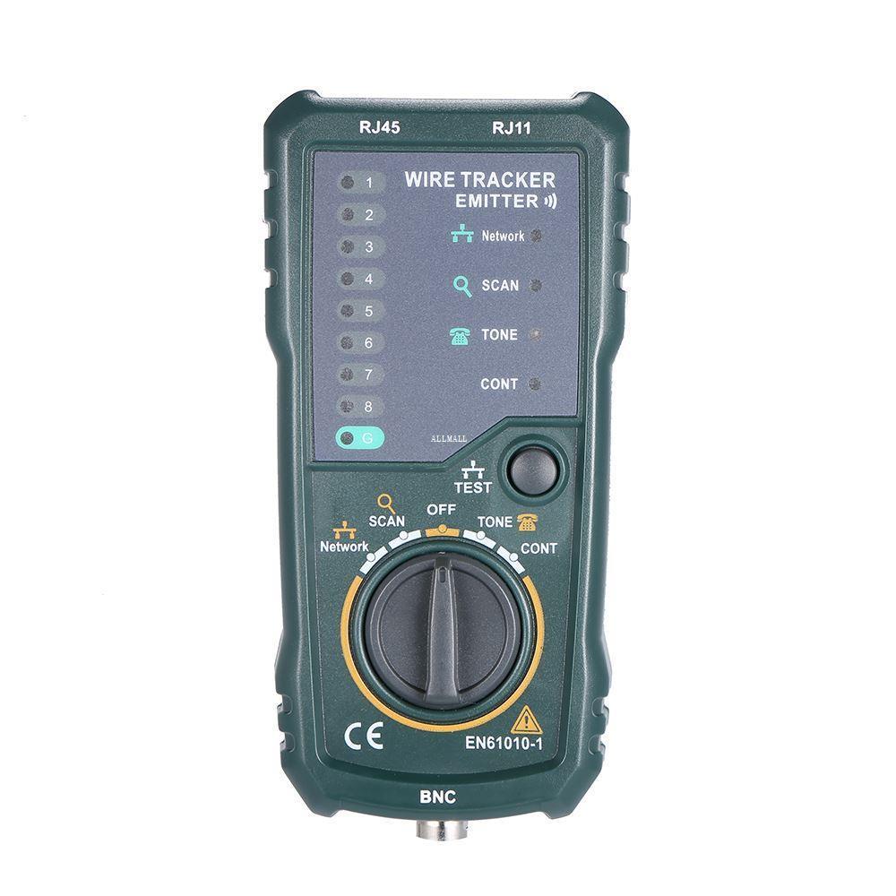 Freeshipping Çok fonksiyonlu Telefon Ağ Tel Tracker El-held Kablo Test Aracı Tel Tester