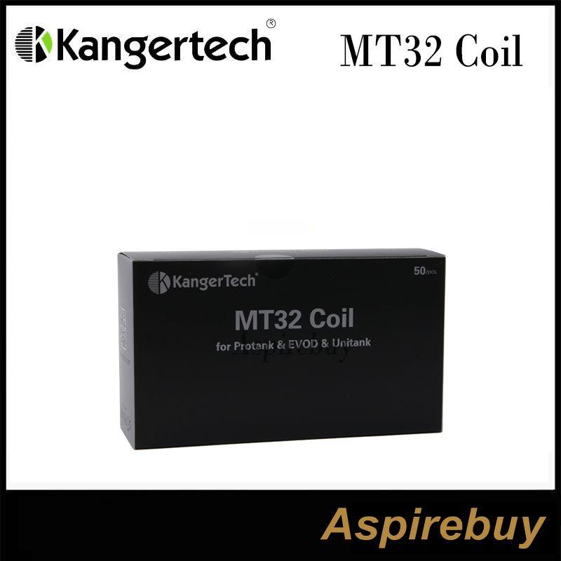 Kanger MT32 Coil (وحدة لفائف) لفائف Evod / Protank 2 / Mini Protank 2 / Unitank لجميع الملفات الفردية Clearomizers 100٪ الأصلي