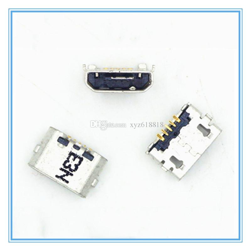 Original novo carregador mini micro usb jack de carregamento fêmea porto dock connector socket para huawei ascend p8 / p8 lite / p8 max frete grátis