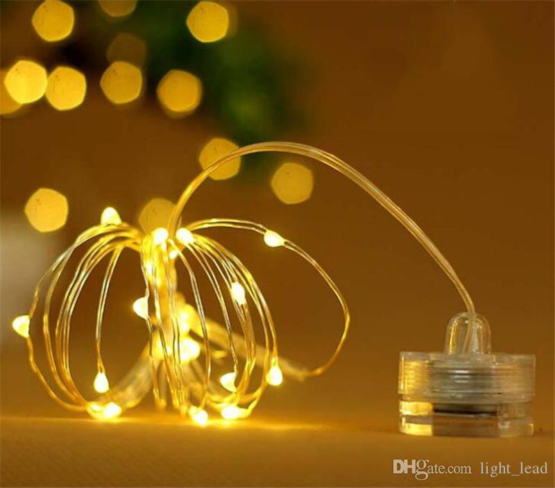 new arrival 64221 2d3b2 Mini LED Fairy String Lights 2M 20LEDs Romantic Light String For Valentine  Day LED Battery Operated Decorative String Lamps Outdoor Patio String ...