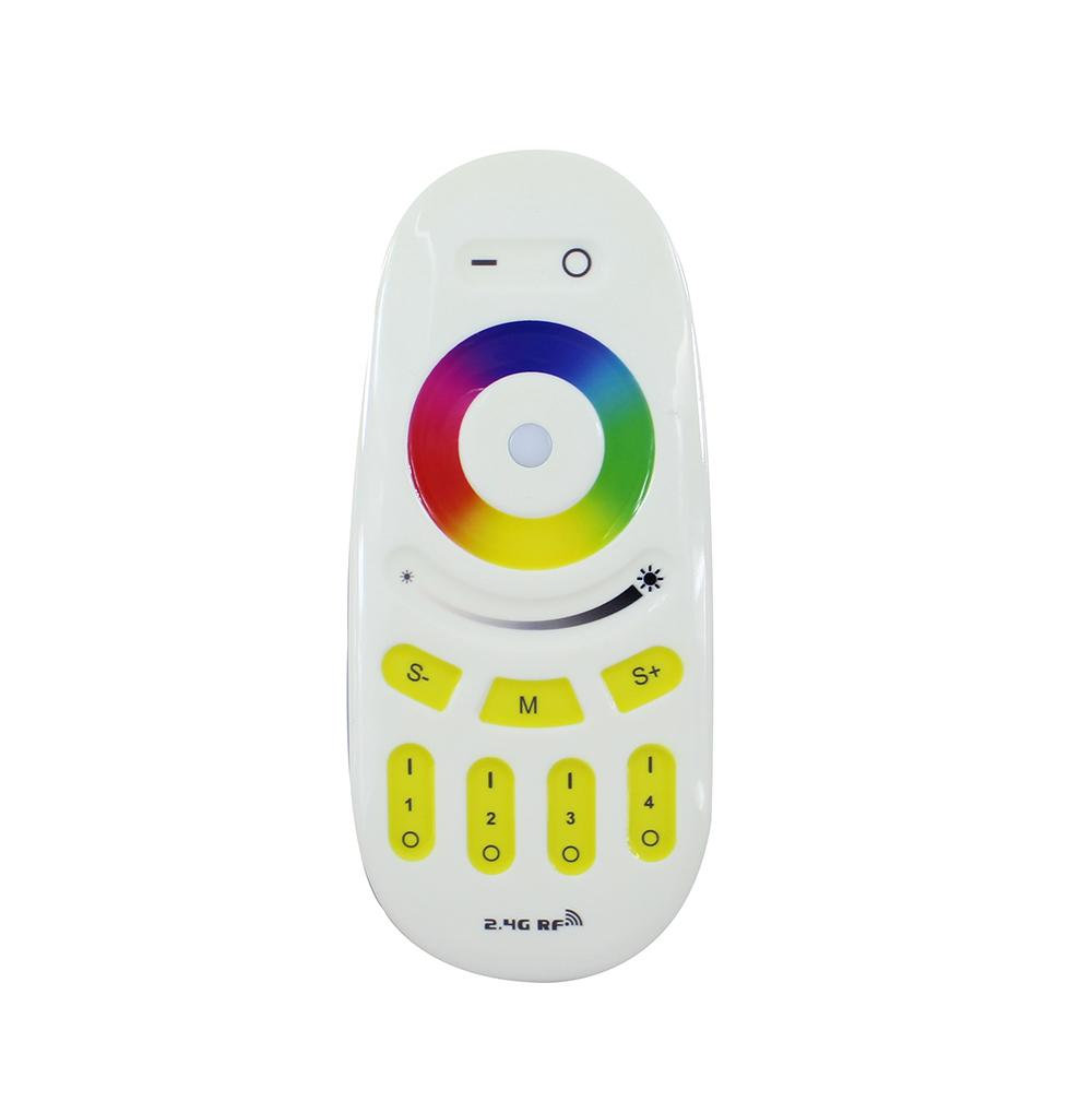 2.4G 4-Zone LED Wireless RF RGB/RGBW Controller Touch Remote Dimmable Mi Light Series For RGB/RGBW Lights Strip and Bulb