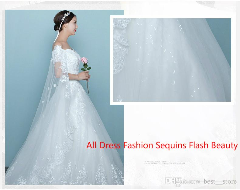 Discount 9 Layers!!!wedding Dressess Diamond Sequins Chinese ...