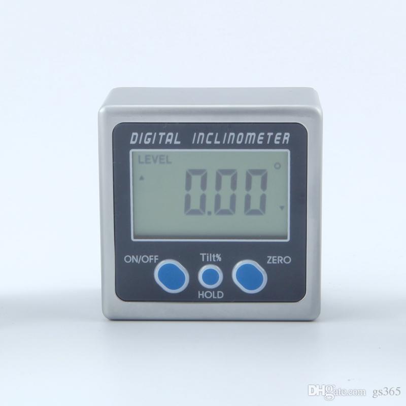 Digitaler Neigungsmesser 0-360° Elektronische Protraktor Aluminiumlegierung L2S8