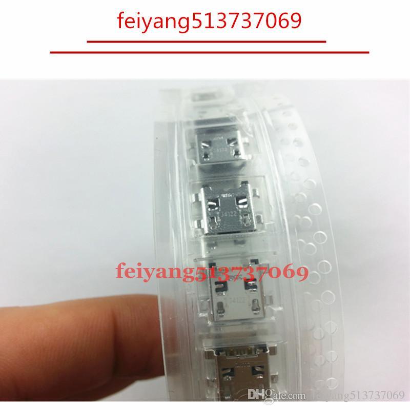 10 шт. Оригинальный новый Micro USB Jack Plug док-разъем Разъем зарядки Порт для Samsung Galaxy Tab 3 7.0 T210 T211 P5200 P3200