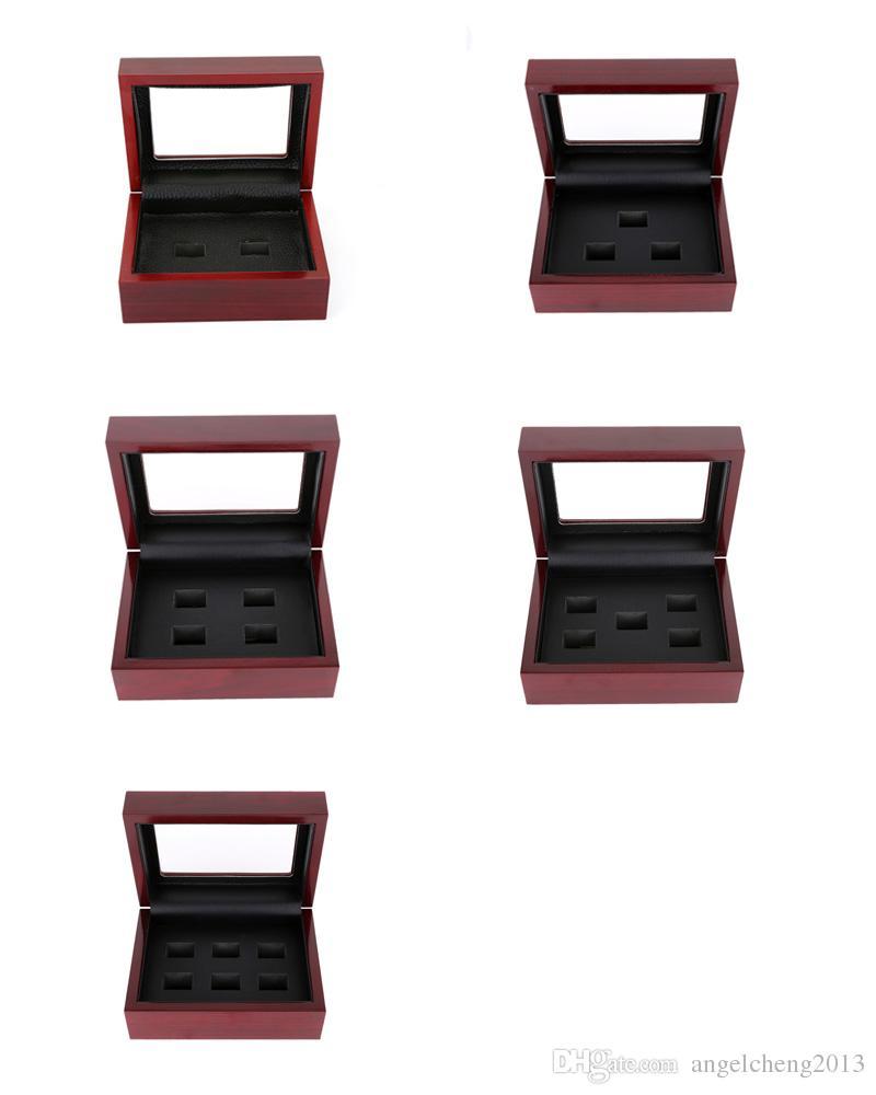12 * 16 * 7 سنتيمتر مربعات المجوهرات الكلاسيكية حزمة عرض خشبي مربع مربع مجوهرات مسامية مربع لحلقات بطولة أو هدية متعددة نمط اختياري B005