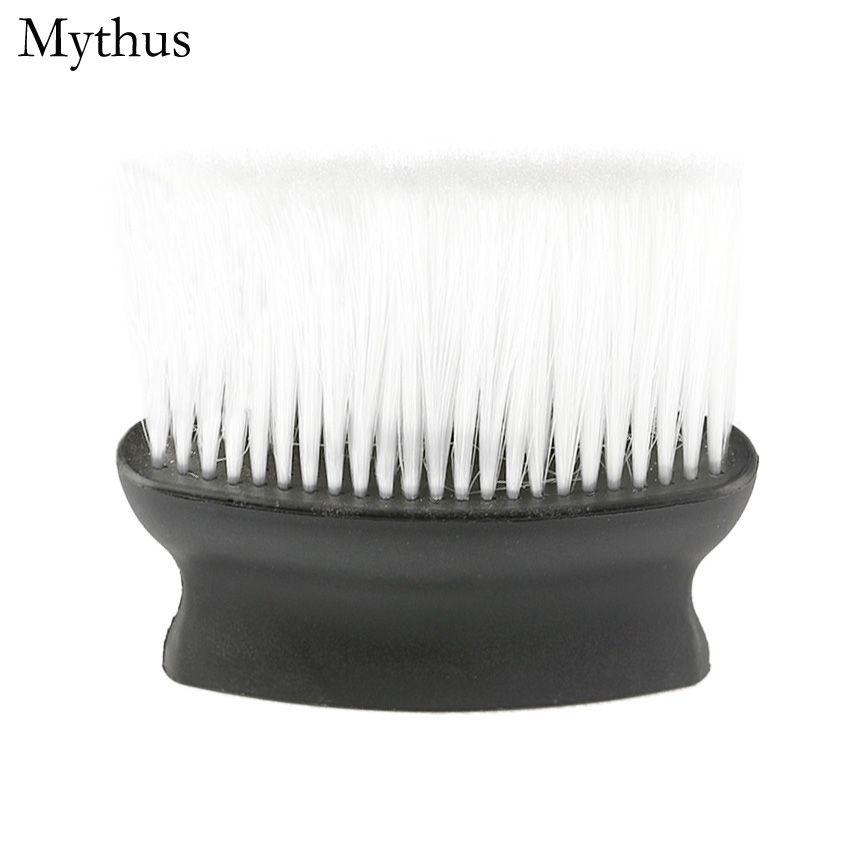 1 Pcs Escova De Limpeza De Corte De Cabelo de Plástico, Pro Salon Barbeiros Cabeleireiro FaceNeck Duster, Corte De Cabelo Styling Acessórios Ferramenta
