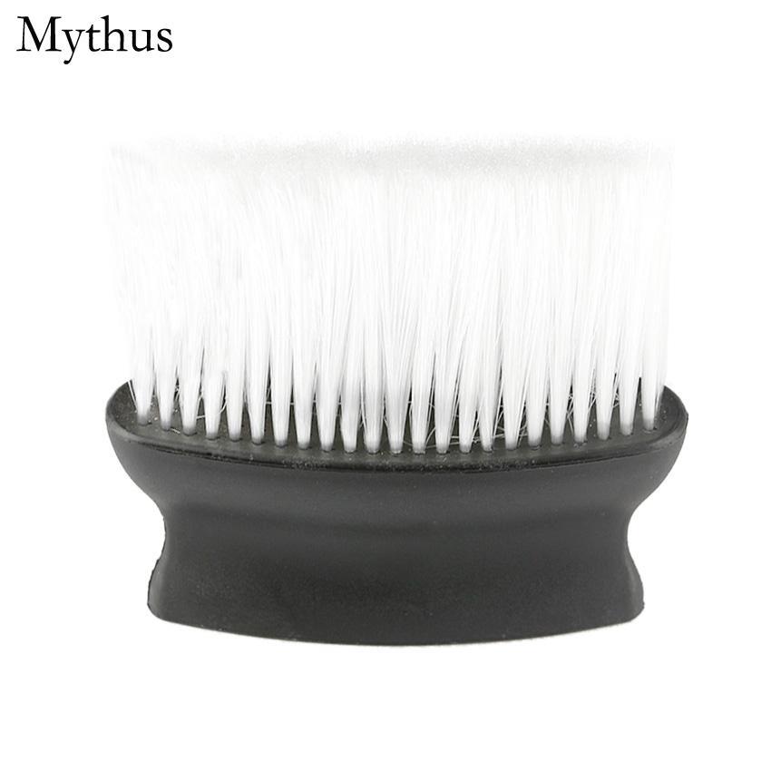 1pcs brosse de nettoyage en plastique coupe de cheveux, Pro Salon Barbiers Coiffure FaceNeck Duster, coupe de cheveux Styling Accessoires outil