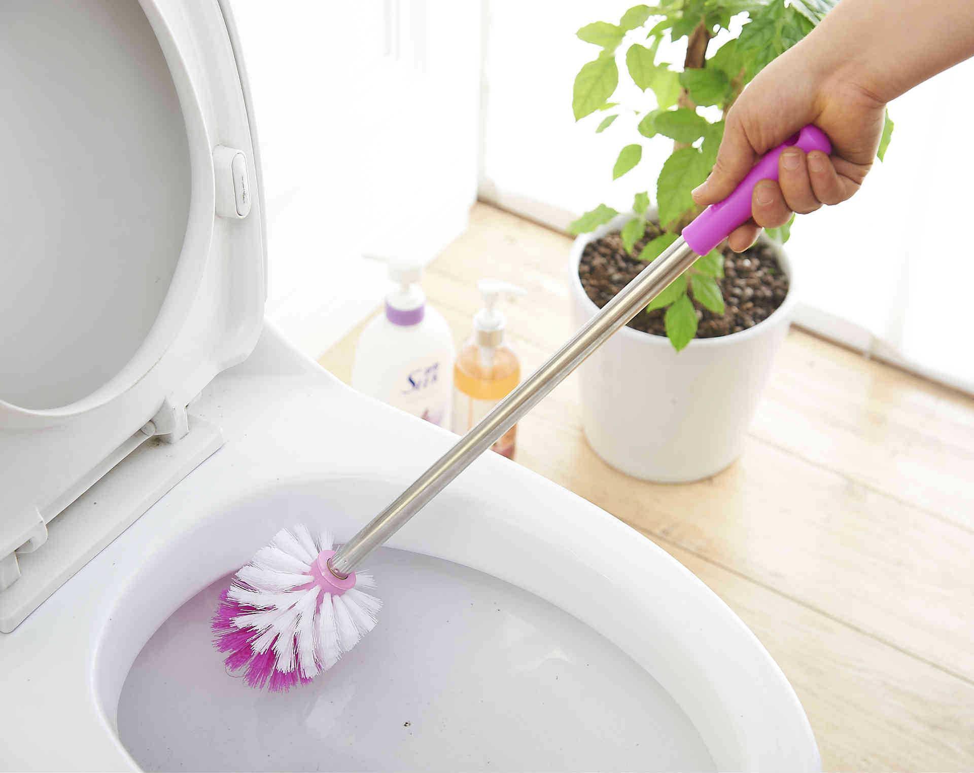 La vendita diretta della fabbrica dell'acciaio inossidabile scopa la spazzola pulita della spazzola della toletta la garanzia della qualità