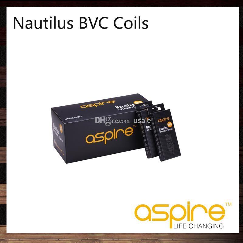 Aspire Nautilus BVC Bobine Testa 0.7ohm 1.6ohm 1.8ohm Per Nautilus 2 Serbatoio Nautilus Mini Atomizzatore 100% Originale