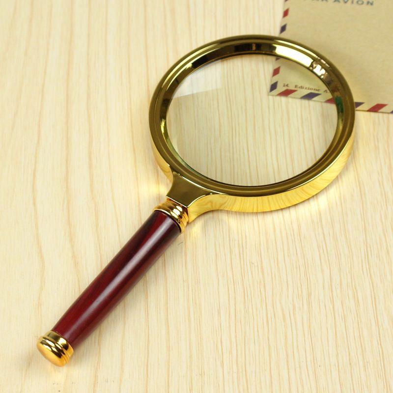 Lente d'ingrandimento dell'obiettivo di lente d'ingrandimento tenuta in mano dell'antificatore 10X di 80mm per monili facili di lettura
