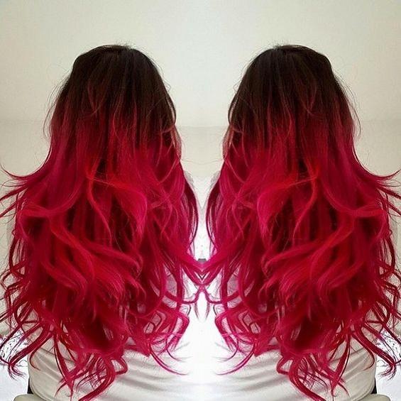 Colored Brazilian Virgin Hair 3 Bundles Ombre 1B/Red Body Wave Red Human Hair Weave Brazilian Peruvian Malaysian Human Hair Extensions