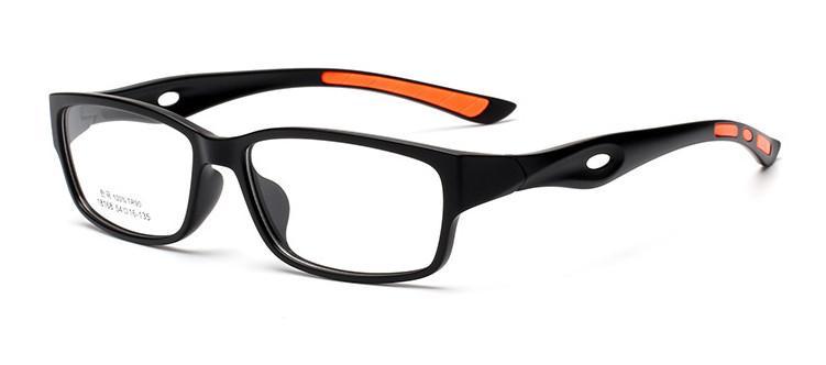 (10 teile / los) klassische sport stil TR90 Brillen rahmen vollrand optische gläser für rezept gafas 18168