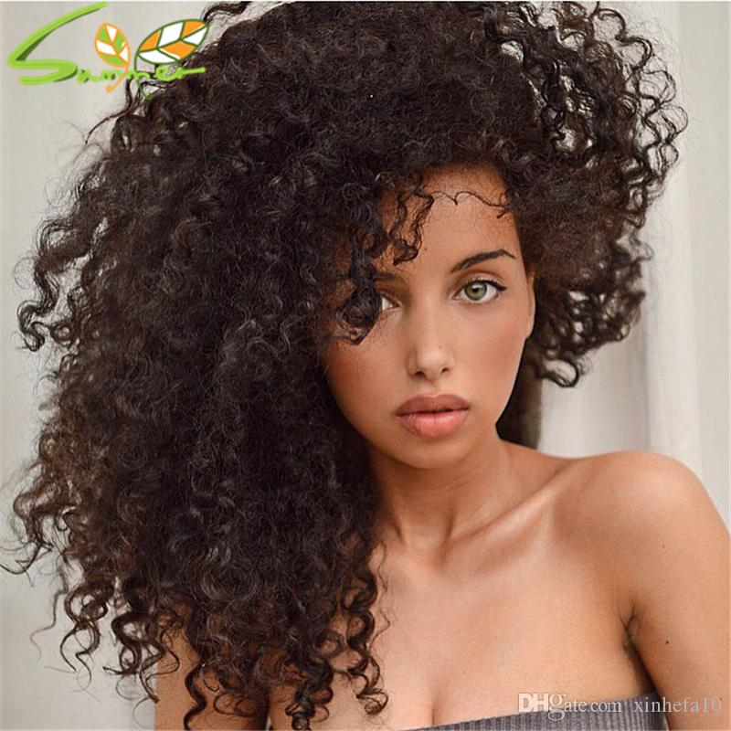 Density 150% Curly Human Hair Full Lace Wigs Grade 7A Peruvian Virgin Hair Glueless Lace Front Wig With Baby Hair Around