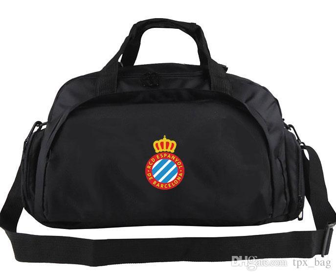 RCD Espanyol Duffel Bag Real Club Deportivo Tote Emblem Trip рюкзак Футбольный багаж Спорт Плечо Dufle Открытый слинг