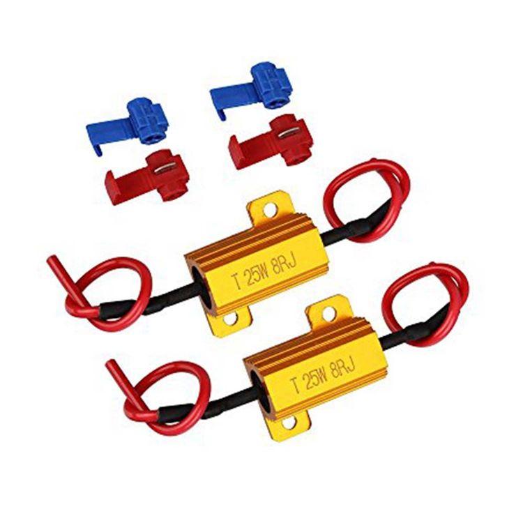 1 Stück Widerstand für LED Blinker 25W 10 Ohm load resistor for LED turn signa
