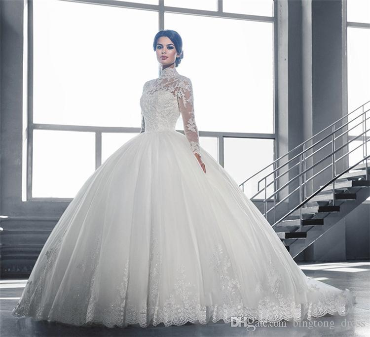 Amato 2016 Modest Pnina Tornai Ball Gown Wedding Dresses with Sleeve  MY54