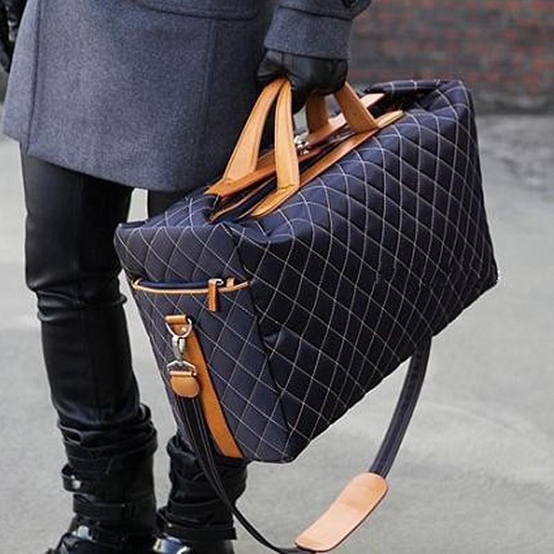 2019 nuevos hombres de moda bolsa de viaje barato bolsa de lona, diseñador de marca bolsos de equipaje Bolso deportivo de gran capacidad 50 cm