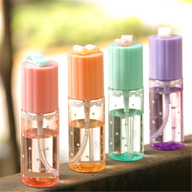 Atacado- 4pcs 35ml 50ml 60ml 100ml viagem portátil perfume transparente atomizador hidratante garrafa de spray vazio maquiagem ferramenta maquiagem recipiente