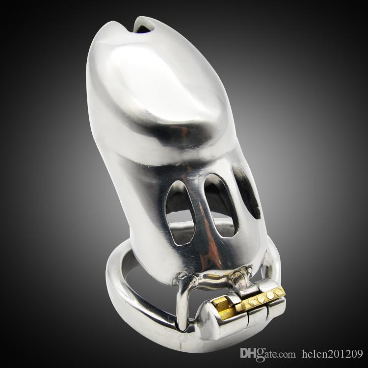 Dispositifs de chasteté d'acier A285 Design mâle Dernier Inoxydable de luxe 316L EIVVW