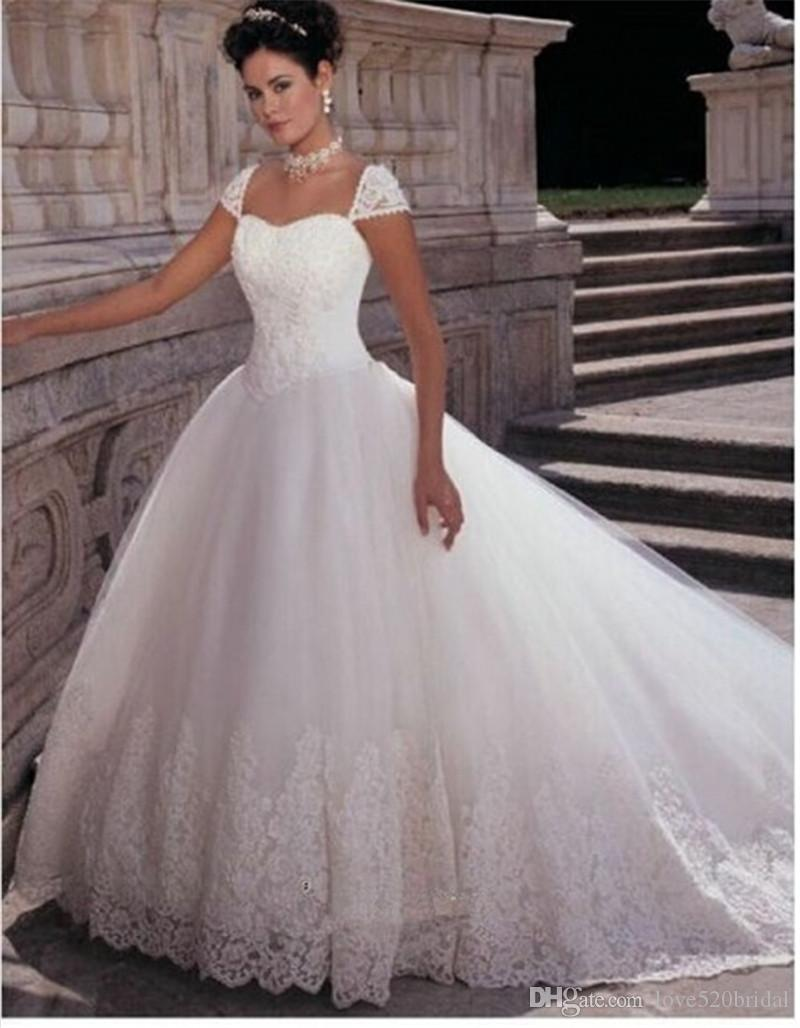 Wedding Dresses For The Mature Bride 2017 Vestido De Noiva Com Renda ...