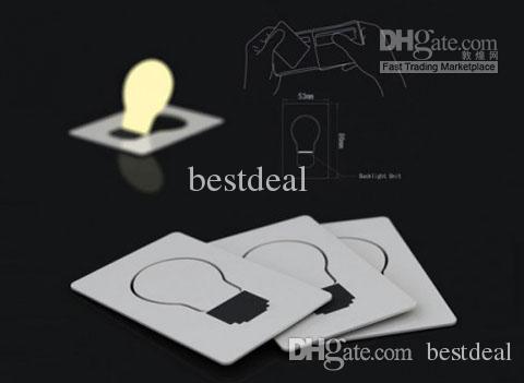 LEDカードライトPocket WalletサイズクレジットカードLED電球ライトカードカードライトポケットカードポケット財布サイズLED電球ライトランプ