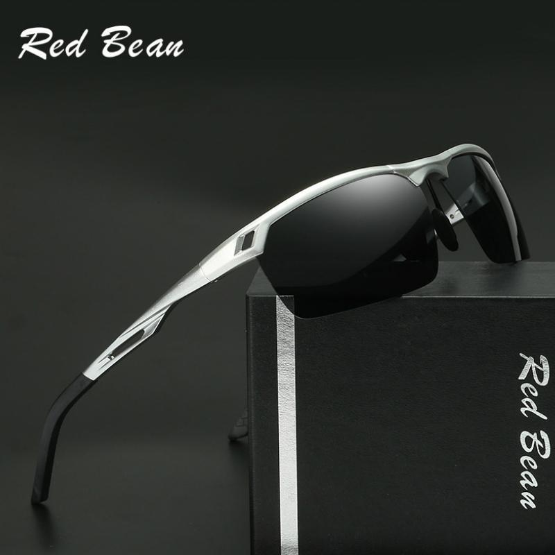 Gafas de sol polarizadas de aluminio para hombre Gafas de pesca deportiva al aire libre Gafas de visión nocturna de conducción Gafas de sol para hombres Mujeres Gafas de diseñador