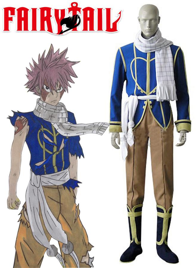 Fairy Tail Dragon Slayers Natsu Dragneel Celestial Spirit outfit costume Cosplay