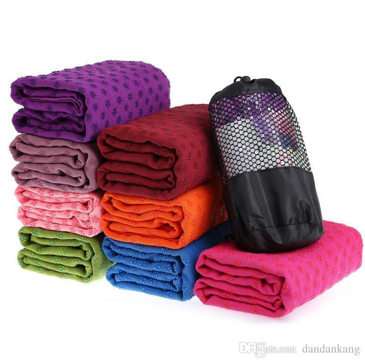 New Mat Yoga Covers de fitness Yoga tapetes antiderrapantes cobertores iogas de ioga ao ar livre desporto Blanket Linha Reta Plum Blossom