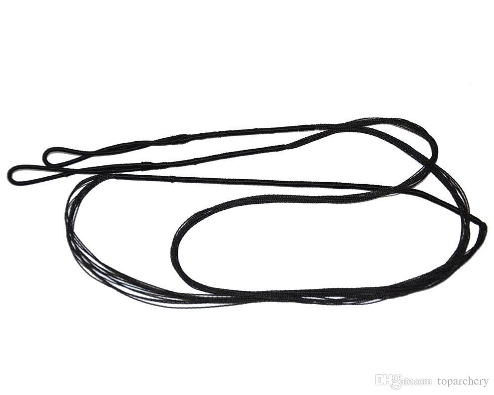 ArchString BowString para Substituição Tradicional Recurvo Arco de Caça Corda Cor Preta Arco E Flecha Acessível Frete Grátis Comprimento 111 cm-173 cm